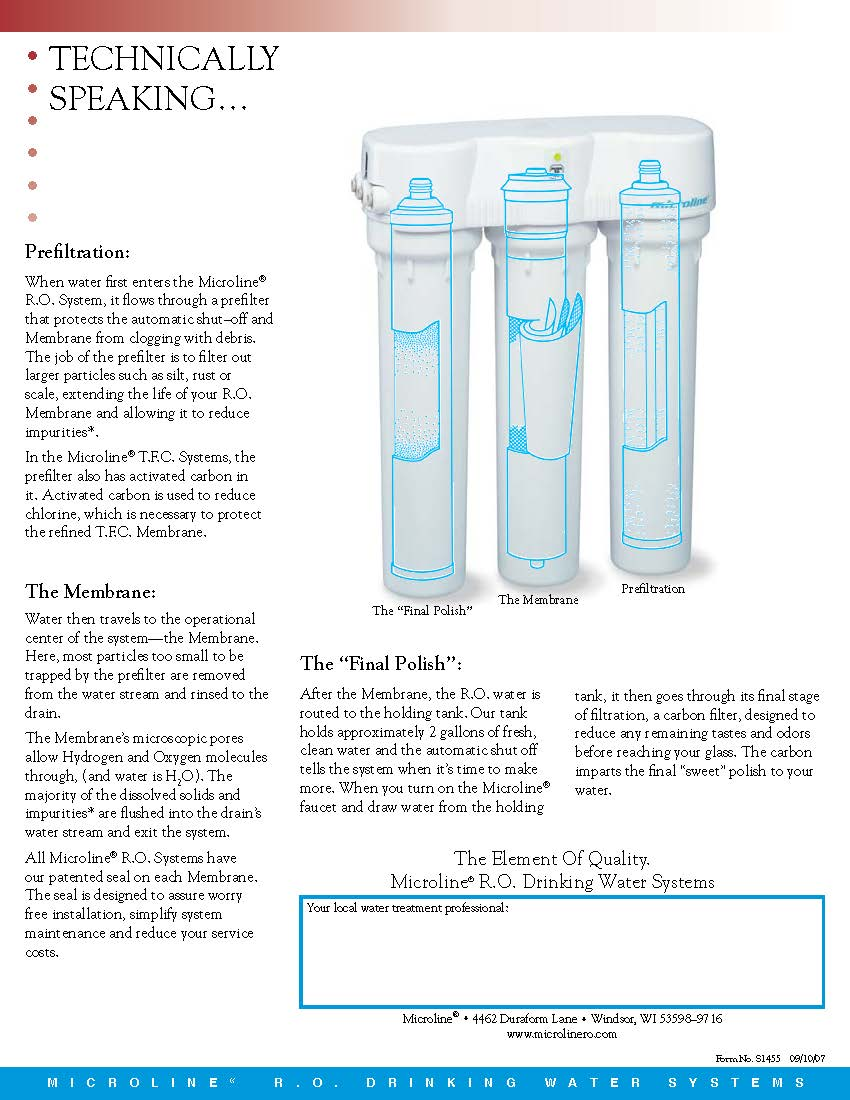 Microline TFC 35 - Water Solutions For Your Home